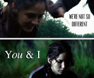 Clove, the hunger games, and katniss image