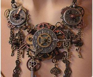 steampunk and necklace image