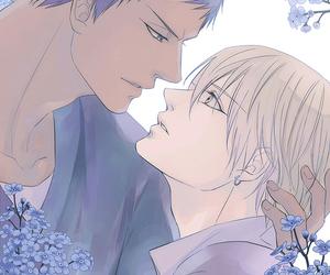 flower, yaoi, and aokise image