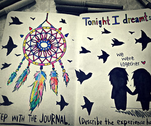 wreck this journal, Dream, and book image