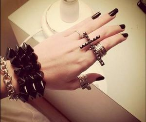 ring, accessories, and cross image