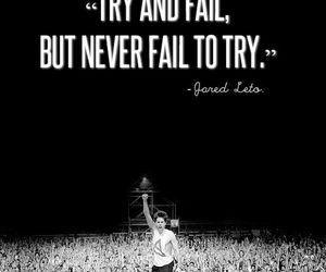jared leto, quote, and 30 seconds to mars image