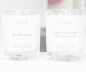 candle, white, and pink image