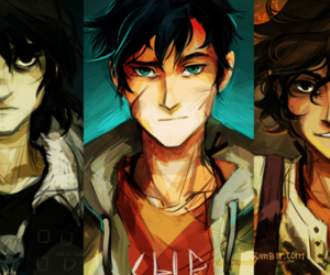 percy, percy jackson, and nico di angelo image