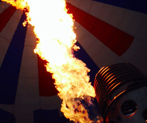 airballoon, amazing, and fire image
