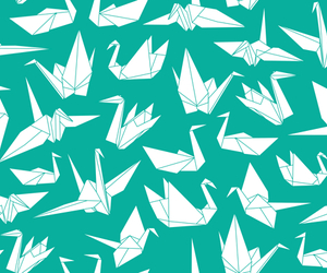 background, pattern, and origami image