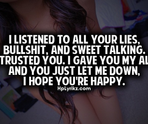 happy and lies image