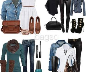 fashion, spring outfit, and fall outfits image