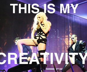 creativity, Lady gaga, and lol image