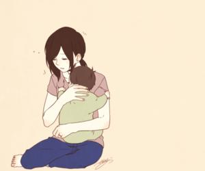anime, manga, and mother image