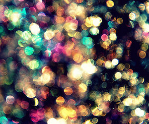 light, glitter, and colors image