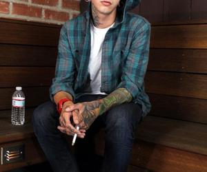 t mills, tattoo, and boy image