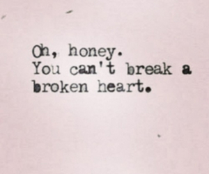 heart, broken, and quote image