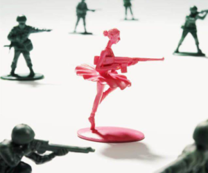 pink, toys, and ballerina image