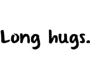 love, frases, and hugs image