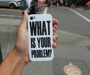 case, iphone, and text image
