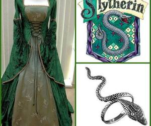 rings and slytherin image
