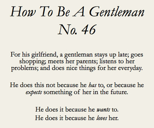 gentleman, love, and quote image