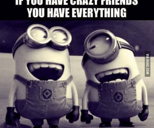 friends, minions, and crazy image