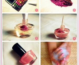 nails, diy, and nail polish image