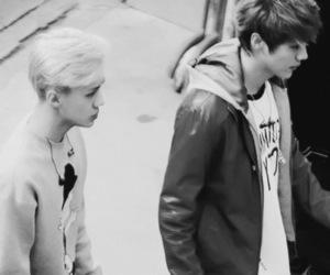 exo, sehun, and hunhan image
