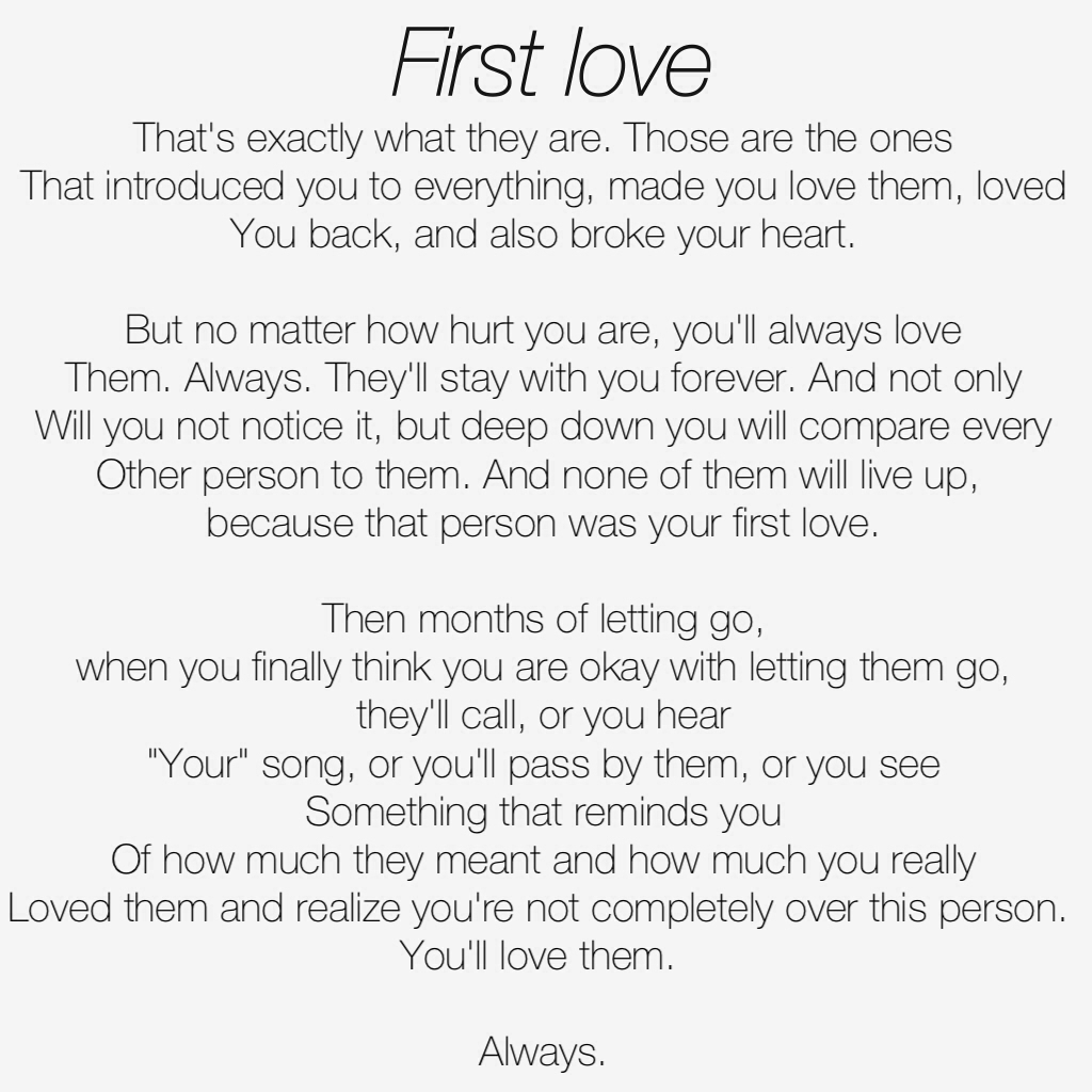 a78ff8e2e0604 First love shared by Monique on We Heart It