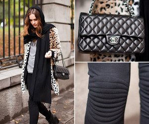chanel, street fashion, and woman image