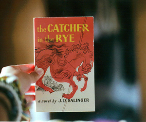 book, the catcher in the rye, and photography image