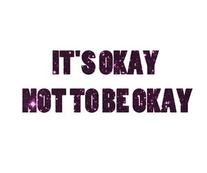 life, okay, and text image
