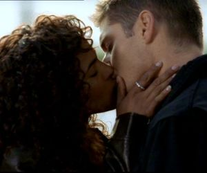 dean winchester, interracial, and kiss image