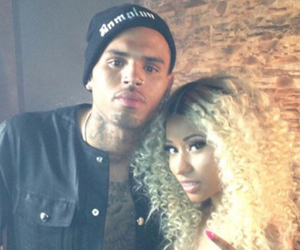 chris brown, nicki minaj, and love more image