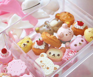 cute, kawaii, and food image