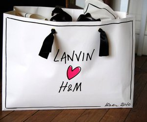 H&M, bag, and fashion image