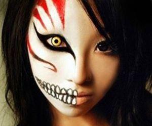 Halloween, bleach, and makeup image