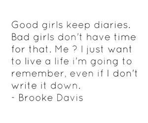 brooke davis, girls, and quotes image