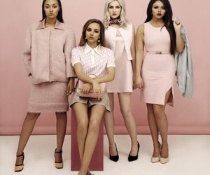 pink, cute girls, and little mix image