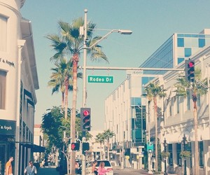 summer, shopping, and rodeo drive image