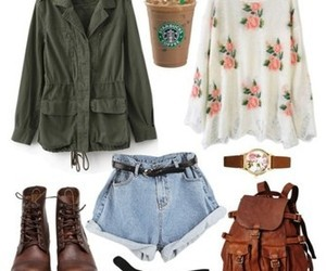 hipster, autumn, and outfit image