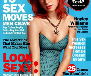 hayley williams, cosmopolitan, and paramore image