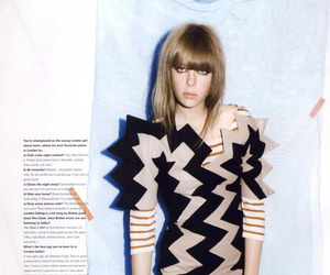 editorial, model, and edie campbell image