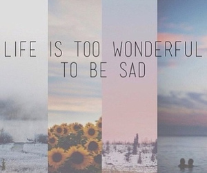 life, quote, and wonderful image