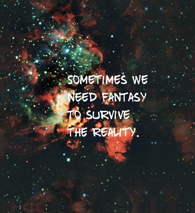 fantasy, reality, and survive image