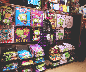 hot topic, Invader Zim, and t shirt image