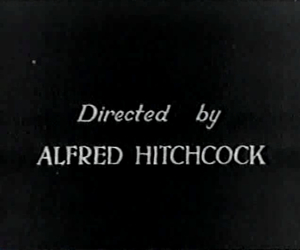 alfred hitchcock and director image