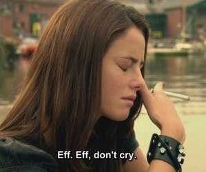 skins, Effy, and cry image