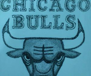basquet, chicago, and bulls image