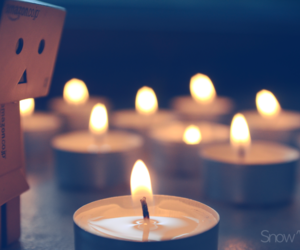 candle and danbo image