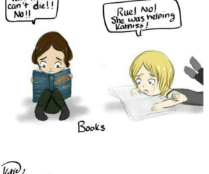 rue, will, and katniss image