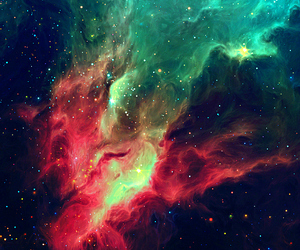 colors, stars, and space image