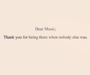 music, text, and quotes image